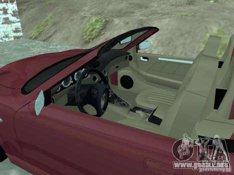 Spyder Cambriocorsa para GTA San Andreas left