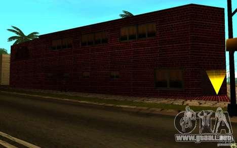 Nuevo gimnasio para GTA San Andreas sucesivamente de pantalla