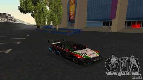 BMW E92 M3 para la vista superior GTA San Andreas