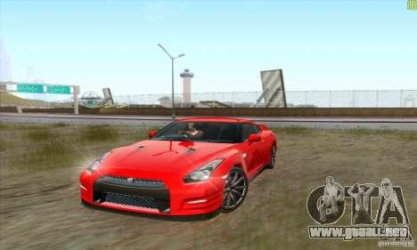 Nissan GT-R R-35 2012 para GTA San Andreas