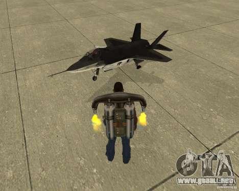 Transporte aéreo Pak para la vista superior GTA San Andreas