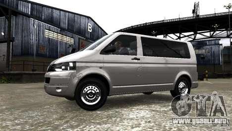 Volkswagen T5 Facelift para GTA 4 left