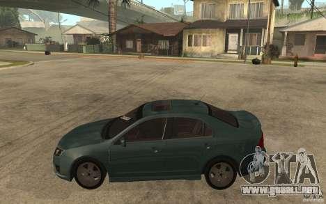Ford Fusion 2010 para GTA San Andreas left