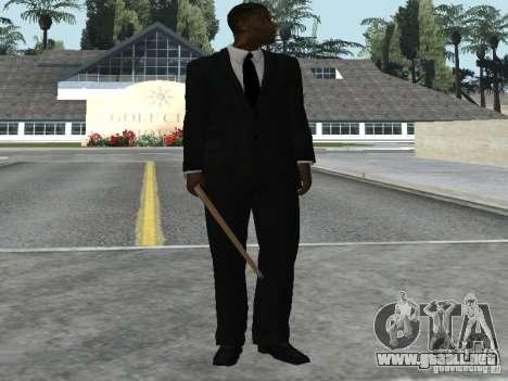 Los guardaespaldas para GTA San Andreas tercera pantalla