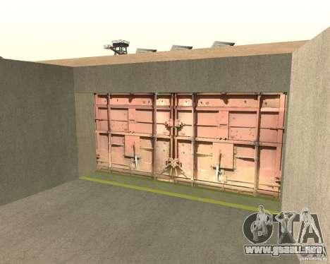 Compuerta neumática en área 69 para GTA San Andreas
