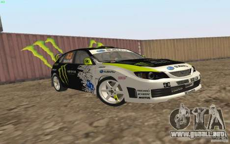 Subaru Impreza WRX Gymkhana2 Beta para GTA San Andreas