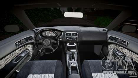 Nissan 200SX para GTA 4 vista hacia atrás