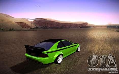 GTA IV Sultan RS para GTA San Andreas left