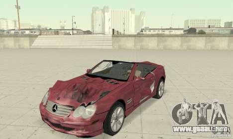 Mercedes-Benz SL500 (R230) para vista lateral GTA San Andreas