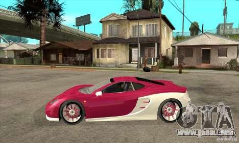 Ascari KZ-1 para GTA San Andreas left