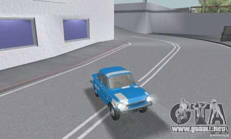 ZAZ 968 m andrajosos para GTA San Andreas interior