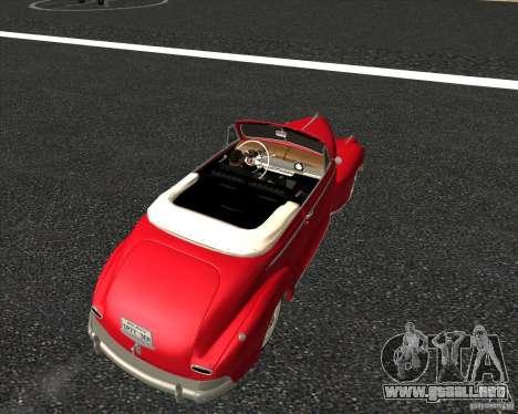 Chevrolet Special DeLuxe 1941 para visión interna GTA San Andreas