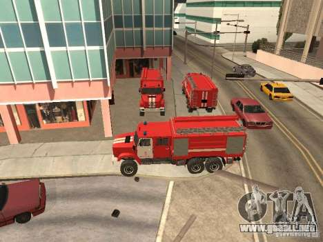 Firetruck ZIL para GTA San Andreas left