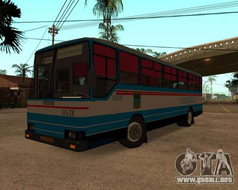Autosan H10-11B full Orenburg stickers para GTA San Andreas left