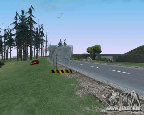 Carretera signos v1.1 para GTA San Andreas séptima pantalla