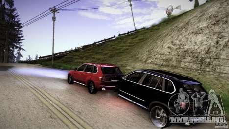 BEAM X5 Trailer para GTA San Andreas left