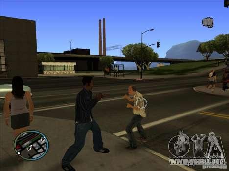 GTA IV TARGET SYSTEM 3.2 para GTA San Andreas tercera pantalla