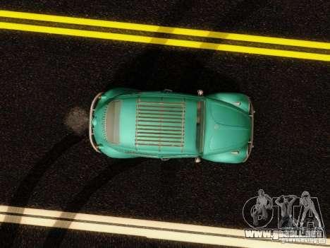 Volkswagen Beetle 1300 para visión interna GTA San Andreas