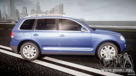 Volkswagen Touareg 2008 TDI para GTA 4 vista lateral