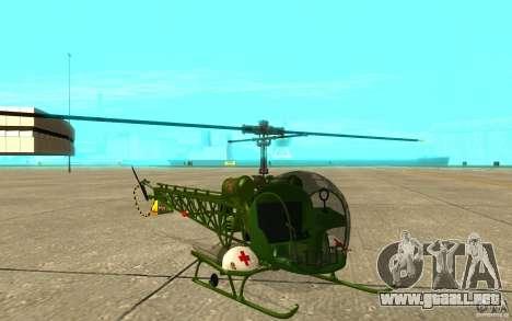 Bell H13 para GTA San Andreas left