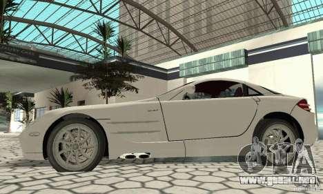 Mercedes-Benz McLaren V2.3 para la visión correcta GTA San Andreas