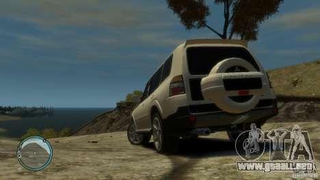 Mitsubishi Pajero Wagon para GTA 4 Vista posterior izquierda