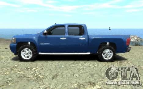 Chevrolet Silverado 2008 para GTA 4 left