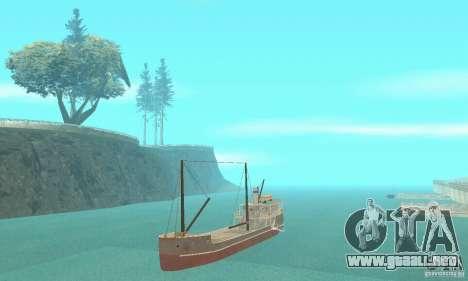 Steam Freighter para GTA San Andreas