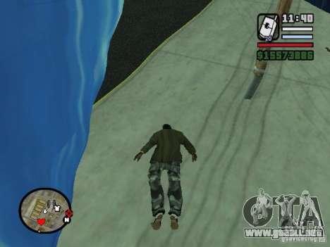 Tsunami para GTA San Andreas sucesivamente de pantalla