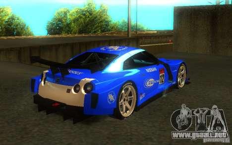 Nissan Skyline R35 GTR para GTA San Andreas left