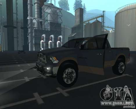 Dodge Ram Hemi para GTA San Andreas left
