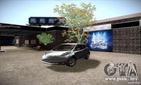 Nissan Leaf 2011 para GTA San Andreas