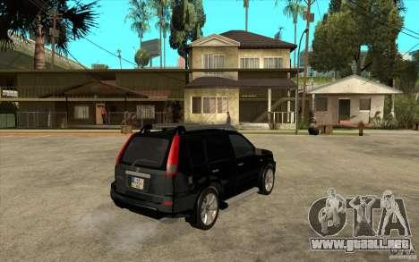 Nissan X-Trail 2001-2007 para la visión correcta GTA San Andreas
