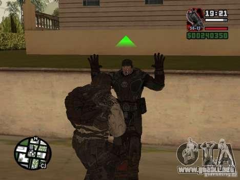 Lokast Grunt de Gears of War 2 para GTA San Andreas sucesivamente de pantalla