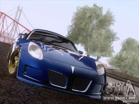 Pontiac Solstice Redbull para GTA San Andreas left