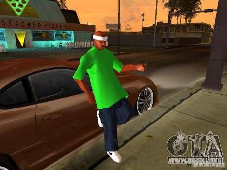 Nueva familia para GTA San Andreas segunda pantalla