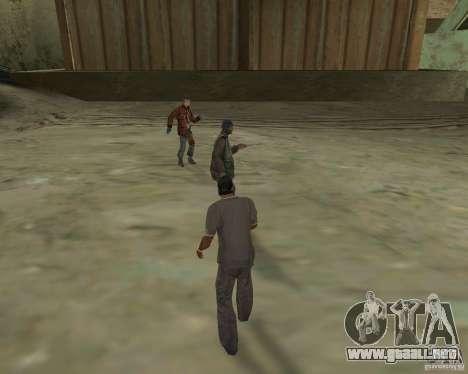 Barney sin hogar para GTA San Andreas tercera pantalla