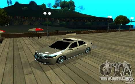 ENB para cualquier ordenador para GTA San Andreas quinta pantalla