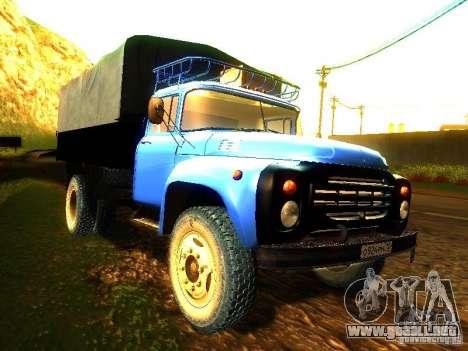 ZIL 431410 para la visión correcta GTA San Andreas