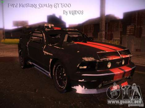 Ford Mustang Shelby GT500 para GTA San Andreas