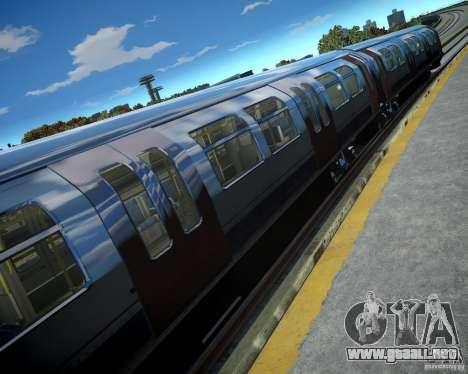 Tren de Londres para GTA 4 adelante de pantalla