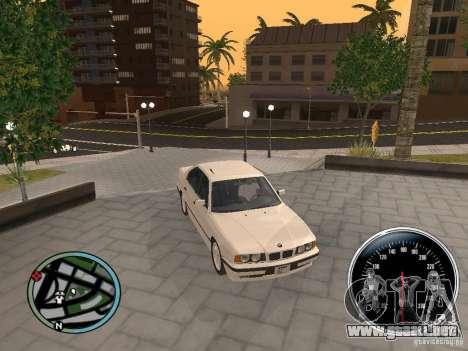 BMW E34 540i para la visión correcta GTA San Andreas