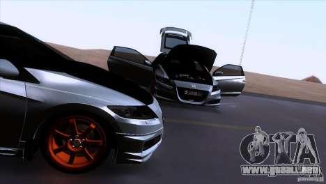 Honda CR-Z Mugen 2011 V1.0 para la vista superior GTA San Andreas