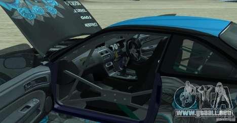 Nissan Silvia S14 NonGrata para la visión correcta GTA San Andreas