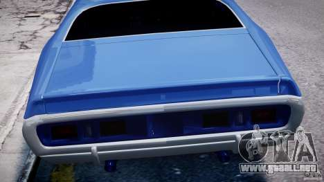 Dodge Charger RT 1971 v1.0 para GTA motor 4