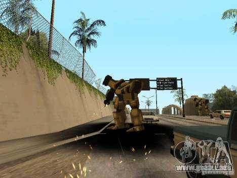 Transformadores para GTA San Andreas tercera pantalla