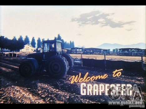 Videoskrinšoty de GTA V para GTA San Andreas tercera pantalla