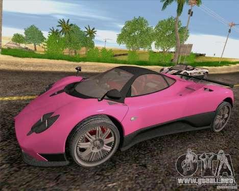 Pagani Zonda F v2 para GTA San Andreas left