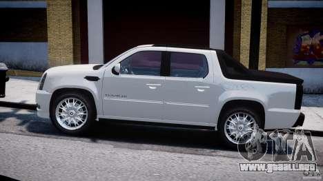 Cadillac Escalade Ext para GTA 4 vista hacia atrás