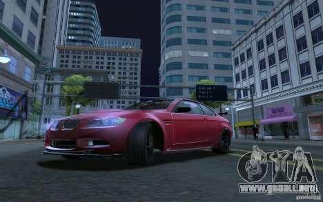 ENBSeries by RAZOR para GTA San Andreas segunda pantalla